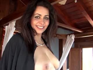 Mollige reife Frau